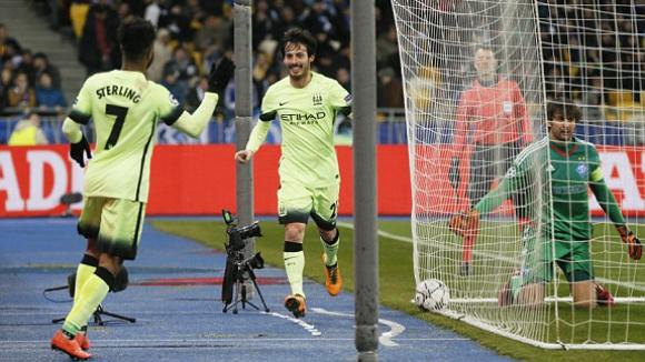 Манчестър Сити превзе Киев и гледа към първи 1/4-финал (видео)