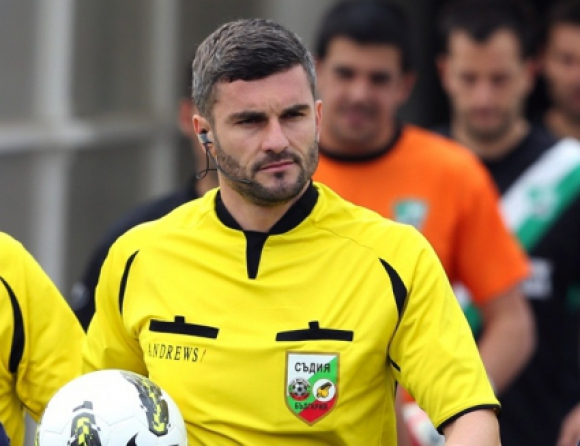 Цветан Кръстев ще ръководи гостуването на Левски в Пловдив