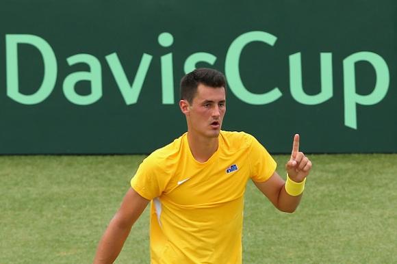 Томич изравни за Австралия срещу САЩ