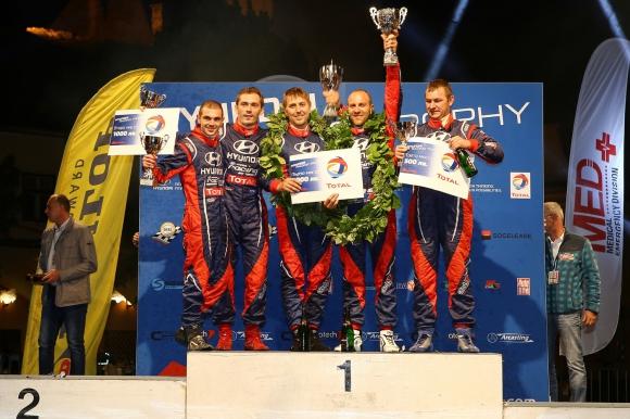 Екипажът Васил Жеков/Бойко Шопов спечели първия кръг на Hyundai Racing Trophy