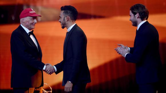 Ники Лауда получи награда за цялостен принос в спорта