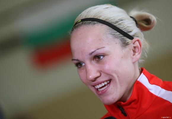 Станимира Петрова като посланик на световното първенство