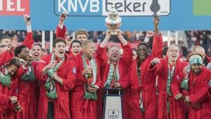 Фейенорд триумфира с Купата на Холандия (видео)
