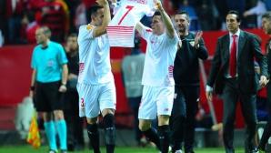 Севиля пише история! Андалусийци за трети пореден път на финал в Лига Европа (видео)