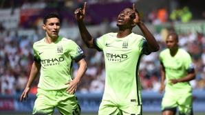 Ман Сити взе нужното и не остави шансове на Юнайтед за четвъртото място (видео)