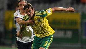 Павлюченко изправи Динамо (М) на ръба на пропастта (видео)