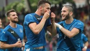 Косово с първа победа