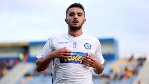 Гръцка медия: ФИФА не даде на ЦСКА-София да привлече Курос