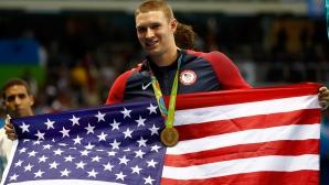 Райън Мърфи с второ злато в Рио, триумфира и на 200 метра гръб