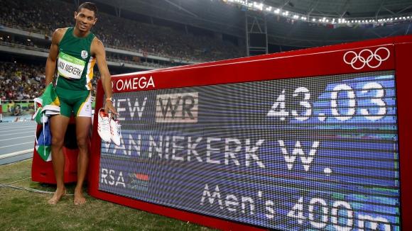 Бомба в Рио - падна световният рекорд на Майкъл Джонсън на 400 метра (ВИДЕО + ГАЛЕРИЯ)