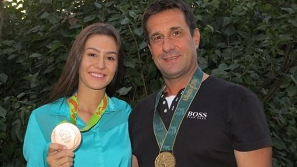 Любомира Казанова има два олимпийски медала, първия й закичва тате на 3 месеца