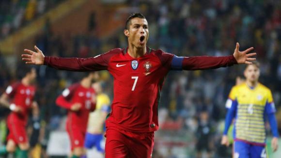 Роналдо след 4-ите гола във вратата на Андора: Чувствам се полезен