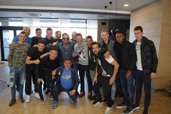 Футболистите на Левски се видяха с Миле Китич