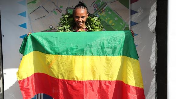 Етиопка най-бърза при жените на Софийския маратон