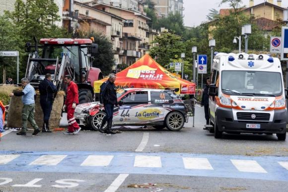 Трагедия на автомобилното рали Сан Марино
