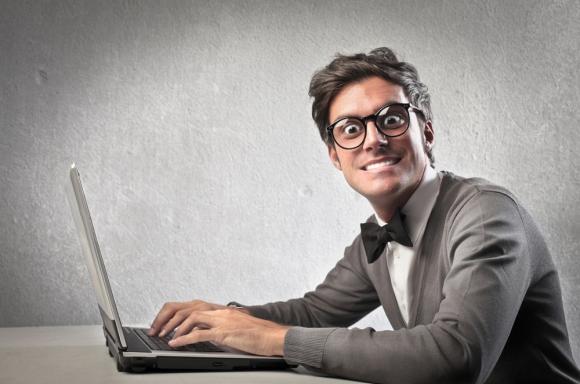 Мъжът в интернет