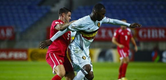 Белгия прегази Гибралтар с рекордно бърз гол и хеттрик на Бентеке (видео)