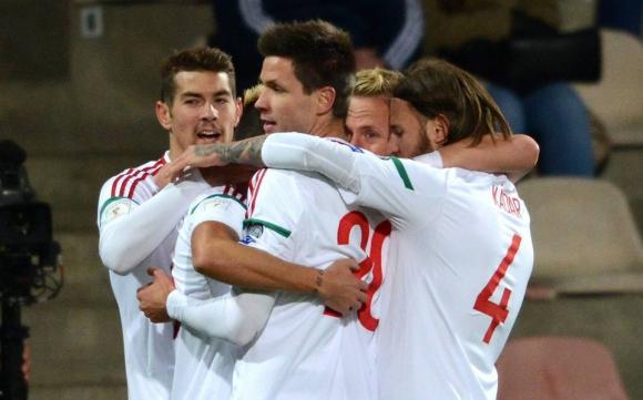 Унгария си тръгна с победа от Латвия (видео)