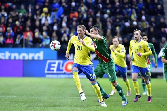 Авторът на първия гол в Стокхолм дори не очаквал повиквателна