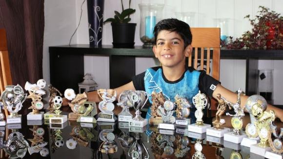 Ювентус привлече 10-годишно дете-чудо (видео)