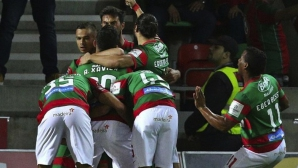 Маритимо нанесе първа загуба на Бенфика (видео)