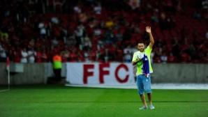 Оцелял играч на Чапекоензе отново стъпи на терена (видео)