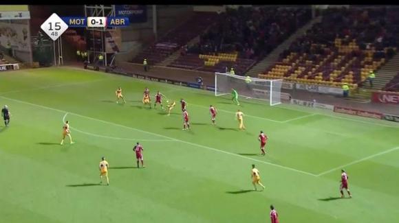 Фантастичен гол на мач в Шотландия (видео)