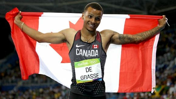 """Андре де Грас изпревари Сидни Кросби за """"Спортист на годината"""" в Канада"""