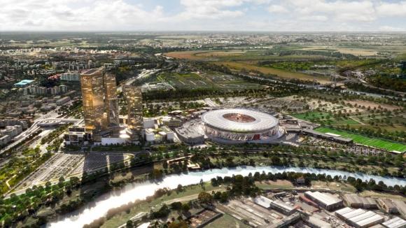 Рома започва строежа на новия стадион догодина