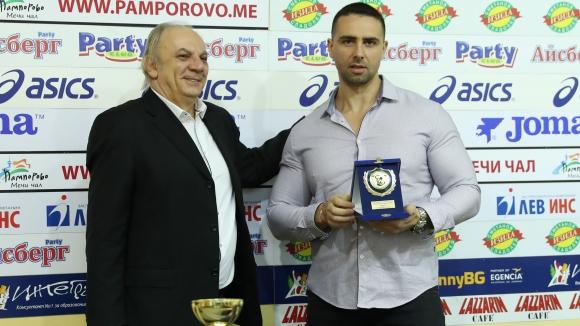 Данаил Генев бе избран за треньор на годината от БФ по културизъм и фитнес
