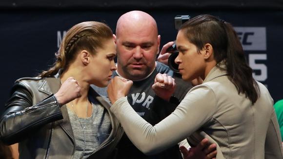 Преди UFC 207: Така тренират Ронда Раузи и Аманда Нунеш (видео)