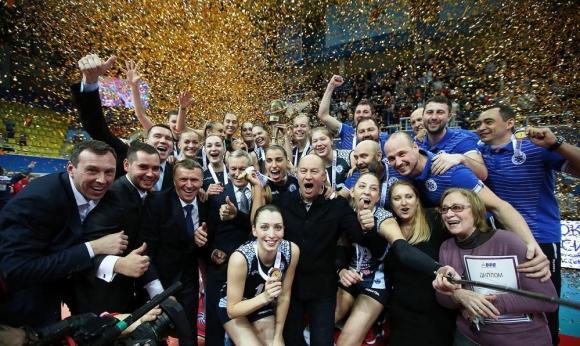 Супер Ели и Динамо (Казан) спечелиха Купата на Русия (снимки + видео)