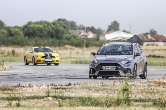 Ford изправи Mustang до Focus RS на пистата
