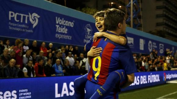 Барса спечели Турнира на младите надежди след 6:1 над Атлетико