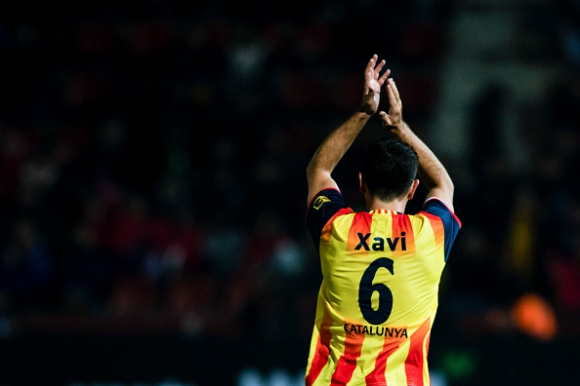 Чави: Каталунският национален отбор би бил сред най-добрите 10-15 в света