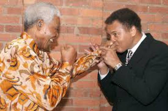 Купиха писмо на Мохамед Али до Нелсън Мандела за $8900