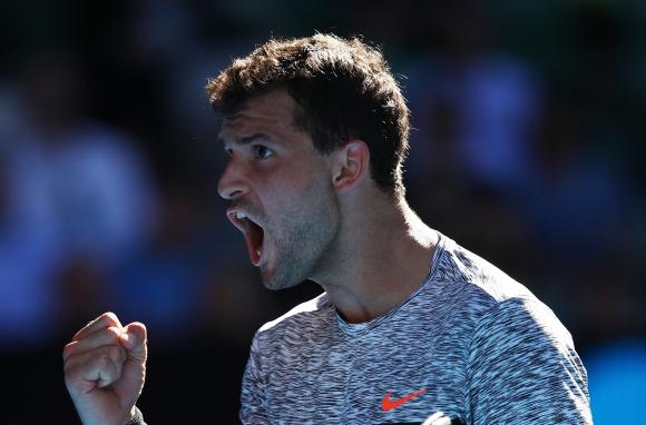 Нова блестяща победа и Григор е на 1/2-финал на Australian Open! (видео + галерия)