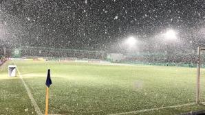 Снеговалеж отложи мача на Борусия (Д) за Купата на Германия