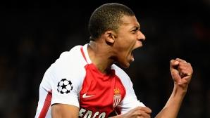 Мбапе настоява да остане в Монако и през следващия сезон
