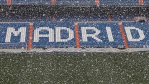 Снежни майтапи между Реал Мадрид и Байерн