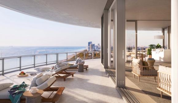 Разходка из новия апартамент на Новак Джокович в Маями (галерия)