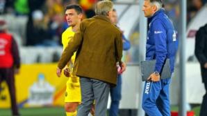 Селекционерът на Румъния нападна Кешерю и даде пример с Лудогорец