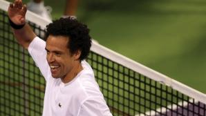 След 7-годишна пауза 45-годишен отново спечели тенис мач