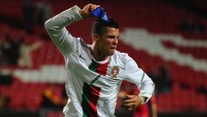Помните ли този велик (не)гол на Кристиано за Португалия? (видео)