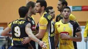 Разпуснат е мъжкият волейболен отбор на Миньор (Перник)