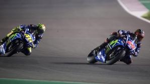 Винялес бил шокиран да види Роси зад себе си в Катар