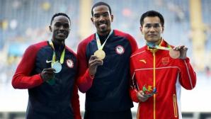 Медалистите от Рио в тройния скок в нова битка на Диамантената лига в Юджийн