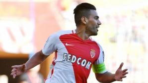Фалкао води Монако към титлата (видео)