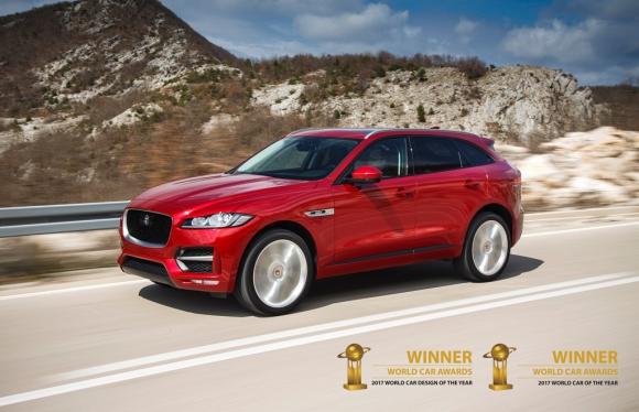 Jaguar F-Pace: Най-красивата кола на света