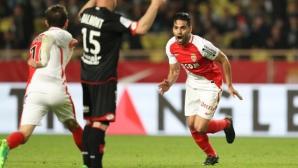 Монако се измъкна с обрат срещу Дижон